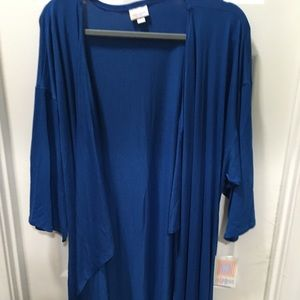 Lularoe Shirley Royal Blue solid
